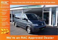 USED 2008 58 VOLKSWAGEN CARAVELLE 2.5 EXECUTIVE TDI 5d AUTO 174 BHP FINANCE FROM ONLY £247.63pm