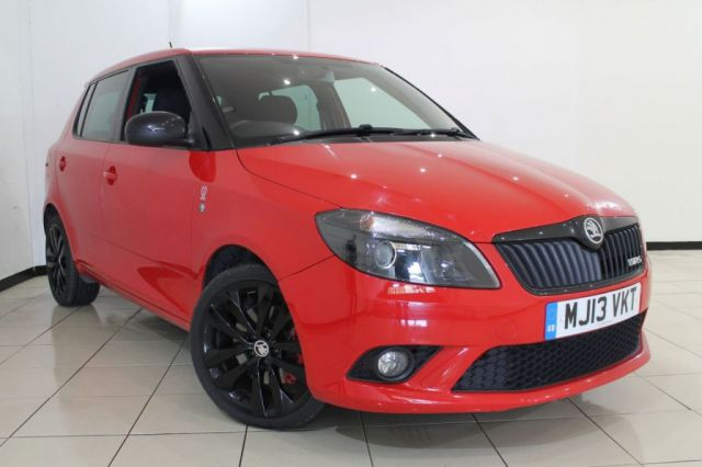 View our 2013 13 SKODA FABIA 1.4 VRS DSG 5DR AUTOMATIC 180 BHP