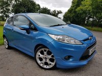 2010 FORD FIESTA 1.6 ZETEC S 3d PRIVACY GLASS  £3450.00