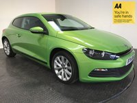 USED 2014 14 VOLKSWAGEN SCIROCCO 2.0 GT TDI BLUEMOTION TECHNOLOGY DSG 2d AUTO 140 BHP FSH-1 OWNER-NAV-BLUETOOTH-ALLOYS