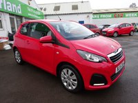 USED 2015 15 PEUGEOT 108 1.0 ACTIVE 3d 68 BHP JUST ARRIVED...PEUGEOT WARRANTY REMAINING