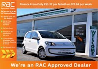 USED 2014 64 VOLKSWAGEN UP 1.0 MOVE UP 5d 59 BHP FINANCE FROM ONLY £91.37pm