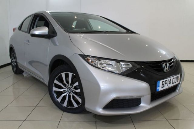 View our 2014 14 HONDA CIVIC 1.6 I-DTEC S 5DR 118 BHP