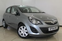 USED 2014 64 VAUXHALL CORSA 1.2 DESIGN 5DR 83 BHP AIR CONDITIONING + MULTI FUNCTION WHEEL + RADIO/CD + ELECTRIC WINDOWS + ELECTRIC/HEATED MIRRORS