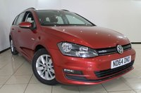 USED 2014 64 VOLKSWAGEN GOLF 1.6 BLUEMOTION TDI 5DR 108 BHP FULL VW SERVICE HISTORY + CLIMATE CONTROL + BLUETOOTH + CRUISE CONTROL + DAB RADIO + ALLOY WHEELS