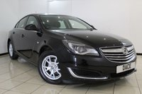 USED 2014 14 VAUXHALL INSIGNIA 2.0 DESIGN CDTI ECOFLEX S/S 5DR 118 BHP FULL SERVICE HISTORY + CLIMATE CONTROL + BLUETOOTH + CRUISE CONTROL + MULTI FUNCTION WHEEL + 16 INCH ALLOY WHEELS