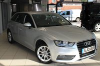 USED 2013 13 AUDI A3 2.0 TDI SE 5d AUTO 148 BHP AUDI SERVICE HISTORY + SAT NAV + BLUETOOTH + AIR CONDITIONING + ELECTRIC WINDOWS + HEATED/ELECTRIC MIRRORS