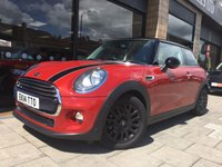 2014 MINI HATCH COOPER 1.5 COOPER 3d AUTO 134 BHP £12500.00