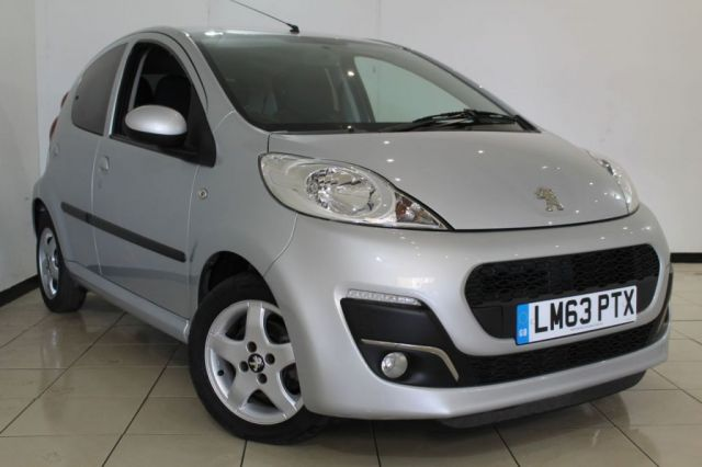 View our 2014 63 PEUGEOT 107 1.0 ALLURE 5DR 68 BHP