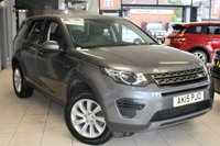 USED 2015 15 LAND ROVER DISCOVERY SPORT 2.2 SD4 SE 5d 190 BHP HALF LEATHER SEATS + REAR PARKING SENSORS + BLUETOOTH + 7 SEATER + CRUISE CONTROL + HALOGEN HEADLIGHTS + ELECTRIC TAILGATE
