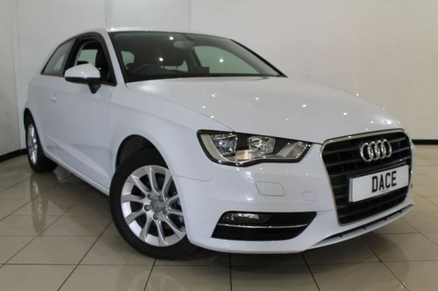 View our 2014 14 AUDI A3 1.6 TDI SE 3DR 104 BHP