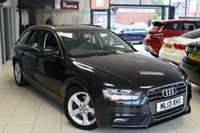 USED 2013 13 AUDI A4 2.0 AVANT TDIE SE TECHNIK 5d 161 BHP FULL AUDI SERVICE HISTORY + FULL LEATHER SEATS + SAT NAV + PARKING SENSORS + £30 A YEAR TAX + CRUISE CONTROL + BLUETOOTH + 18 INCH ALLOYS + AIR CONDITIONING + ELECTRIC WINDOWS