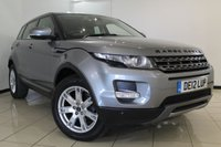 USED 2012 12 LAND ROVER RANGE ROVER EVOQUE 2.2 SD4 PURE TECH 5DR 190 BHP HEATED LEATHER SEATS + SAT NAVIGATION + PARKING SENSOR + BLUETOOTH + CRUISE CONTROL + MULTI FUNCTION WHEEL