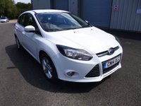 USED 2014 14 FORD FOCUS 1.6 ZETEC THIS VEHICLE IS AT SITE 1 - TO VIEW CALL US ON 01903 892224