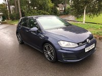 USED 2013 63 VOLKSWAGEN GOLF 2.0 GTD 5d 184BHP SUPER CONDITION NEW SHAPE GTD WITH FULL VW SERVICE HISTORY
