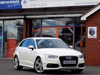 USED 2013 13 AUDI A3 1.6 TDI S LINE 5d 104 BHP *ONLY 9.9% APR with FREE Servicing*