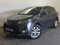 USED 2013 13 TOYOTA RAV4 2.2 D-4D ICON 5d 150 BHP 4WD FACELIFT SUNROOF PRIVACY ONE OWNER FSH 4WD. FACELIFT MODEL. SUNROOF. STUNNING GREY MET WITH BLACK CLOTH TRIM. CRUISE CONTROL. 18 INCH ALLOYS. COLOUR CODED TRIMS. PRIVACY GLASS. REVERSING CAMERA. BLUETOOTH PREP. CLIMATE CONTROL. R/CD PLAYER. MFSW. 6 SPEED MANUAL. MOT 08/18. ONE OWNER FROM NEW. FULL SERVICE HISTORY. PRISTINE CONDITION. FCA FINANCE APPROVED DEALER. TEL 01937 849492.