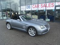 USED 2006 06 CHRYSLER CROSSFIRE 3.2 V6 2d 215 BHP FREE 6 MONTHS RAC WARRANTY AND FREE 12 MONTHS RAC BREAKDOWN COVER