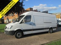 USED 2008 58 MERCEDES-BENZ SPRINTER 2.1 311CDI LWB HIGH ROOF. 1 OWNER. ONLY 112,000 MILES. PX LOW RATE FINANCE. WARRANTY. PX WELCOME