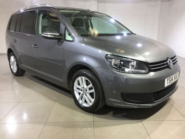 View our 2014 14 VOLKSWAGEN TOURAN 1.6 SE TDI BLUEMOTION TECHNOLOGY 5d 103 BHP