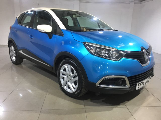View our 2014 14 RENAULT CAPTUR 1.5 DYNAMIQUE MEDIANAV DCI 5d AUTO 90 BHP