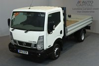 USED 2015 15 NISSAN NT400 CABSTAR 2.5 DCI 35.14 2d 136 BHP MWB RWD TWIN WHEEL HEATED DRIVER SEAT POWER WINDOWS MIRRORS DROPSIDE LORRY ONE OWNER FROM NEW