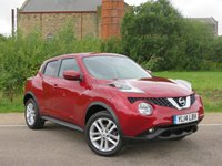 USED 2014 14 NISSAN JUKE 1.5 ACENTA DCI 5d 110 BHP BEST COLOUR!