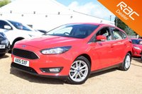 USED 2015 15 FORD FOCUS 1.0 ZETEC 5d 100 BHP Bluetooth, Ford Warranty & more