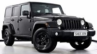 USED 2015 65 JEEP WRANGLER 2.8 CRD Black Edition II Hard Top 4x4 4dr Only 100 in UK, Ltd Edition!
