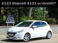 USED 2014 63 PEUGEOT 208 1.4 HDI ACTIVE 3d 68 BHP GREAT SPEC, TOUCHSCREEN DAB RADIO, BLUETOOTH, CRUISE CONTROL