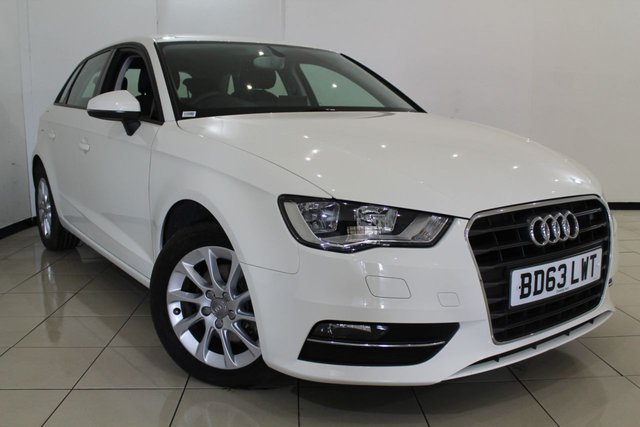 View our 2013 63 AUDI A3 1.6 TDI SE 5DR 104 BHP