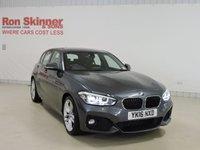 USED 2016 16 BMW 1 SERIES 1.5 116D M SPORT 5d AUTO 114 BHP