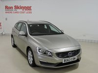 USED 2013 63 VOLVO V60 2.0 D4 BUSINESS EDITION 5d 161 BHP