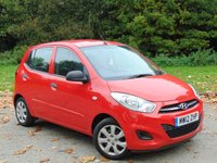 USED 2012 12 HYUNDAI I10 1.2 CLASSIC 5d  * 128 POINT AA INSPECTED * 12 MONTHS FREE AA BREAKDOWN COVER *