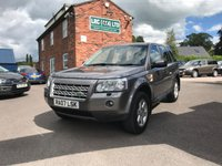 USED 2007 07 LAND ROVER FREELANDER 2.2 TD4 GS 5d 159 BHP This vehicle comes fully serviced, with a 6 MONTHS renewable warranty,12 Months M.O.T, Fully prepared ready for 12 months hassle free motoring.