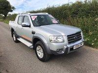 2008 FORD RANGER WILDTRAK 4X4 LWB D/C  £8495.00