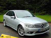 USED 2010 60 MERCEDES-BENZ C CLASS 2.1 C250 CDI BLUEEFFICIENCY SPORT 4d AUTO 204 BHP 128 POINT AA INSPECTED with SATELLITE NAVIGATION