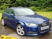 USED 2013 63 AUDI A3 2.0 TDI SPORT 5d 148 BHP NEW CAMBELT AND WATER PUMP, FULL AA INSPECTION