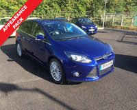 USED 2014 14 FORD FOCUS 1.0 ZETEC 5d 99 BHP THIS VEHICLE IS AT SITE 2 - TO VIEW CALL US ON 01903 323333