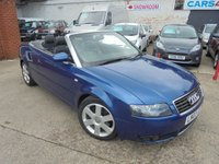 2003 AUDI A4 3.0 SPORT 2d AUTO 217 BHP £3690.00
