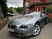 USED 2004 04 BMW 6 SERIES 4.4 645CI 2d 329 BHP