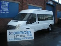 2007 FORD TRANSIT 2.4 350 LWB SHR 15 STR 1d 115 BHP £SOLD