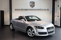 USED 2009 09 AUDI TT 2.0 TFSI 2DR 200 BHP + FULL AUDI SERVICE HISTORY + HALF BLACK LEATHER INTERIOR + HEATED SPORT SEATS + AIR CONDITIONING + HEATED MIRRORS + 17 INCH ALLOY WHEELS +