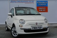 USED 2014 14 FIAT 500 1.2 LOUNGE 3d 69 BHP **FULL SERVICE HISTORY**