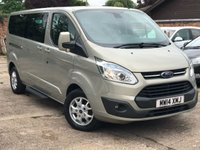 2014 FORD TOURNEO CUSTOM 2.2 300 LIMITED TDCI 5d 125 BHP LWB 9 Seater Minibus £14900.00