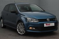 USED 2013 63 VOLKSWAGEN POLO 1.4 BLUEGT 3d 140 BHP FULL SERVICE HISTORY