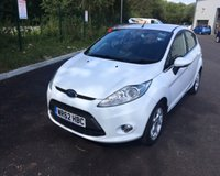 USED 2012 62 FORD FIESTA 1.2 ZETEC 5d 81 BHP THIS VEHICLE IS AT SITE 1 - TO VIEW CALL US ON 01903 892224