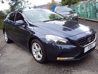 USED 2014 14 VOLVO V40 1.6 D2 SE 5d 113BHP ZERO ROAD TAX+17ALLOYS+1 OWNER