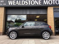 2014 MINI MINI PACEMAN 1.6 COOPER S  [CHILI] SAT NAV + LEATHER 3d 184 BHP £14000.00