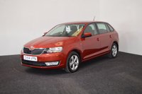 USED 2014 64 SKODA RAPID 1.6 SPACEBACK SE TDI CR DSG 5d AUTO 89 BHP